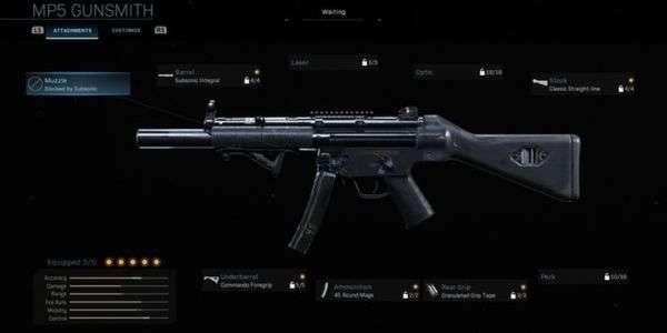 Mais Forte MP5