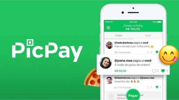 Crie uma conta no picpay